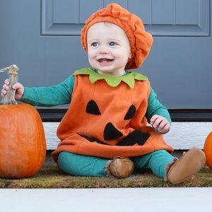Pottery Barn Kids Baby Pumpkin Costume